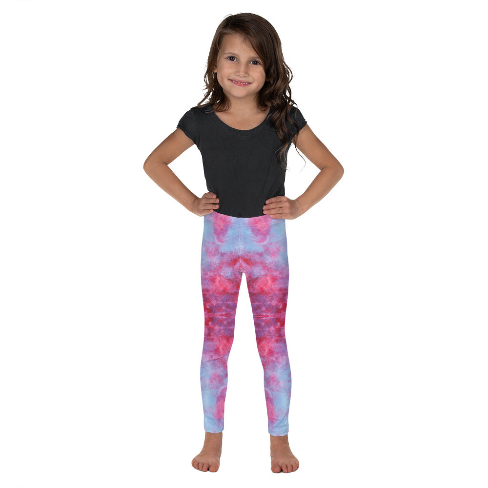 Red Tie Dye - Kid's Leggings