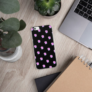 Pink Happiness Rose - iPhone Case