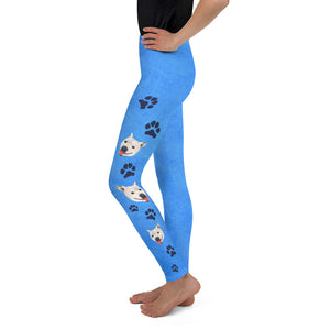 Dog Rescue - Lily the Pitbull  Youth Leggings