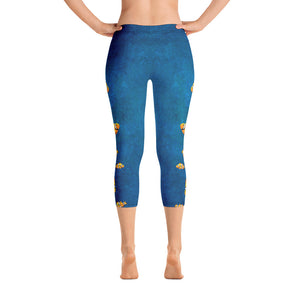 Clown Fish Ocean - Capri Leggings