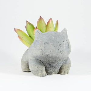 Concrete Bulbasaur Planter
