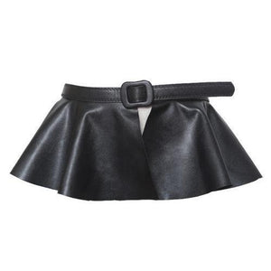 Faux Leather Skirt Belt-Belts-NUVO53
