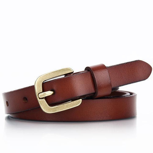 Leather Jeans Buckle Belt-Belts-NUVO53