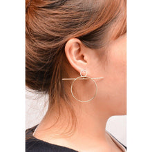 Matchstick Hoop Earrings-earrings-NUVO53