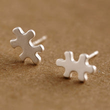 Puzzle Stud Earrings