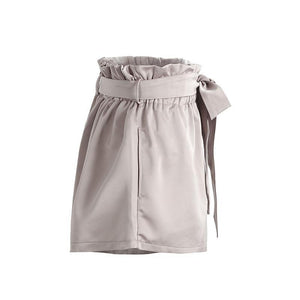 Ruched Pocket Bud Shorts-Women's Pants and Shorts-NUVO53