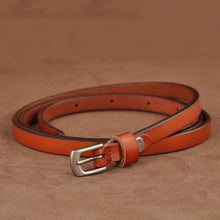 Slender Cow Leather Casual Buckle Belt-Belts-NUVO53