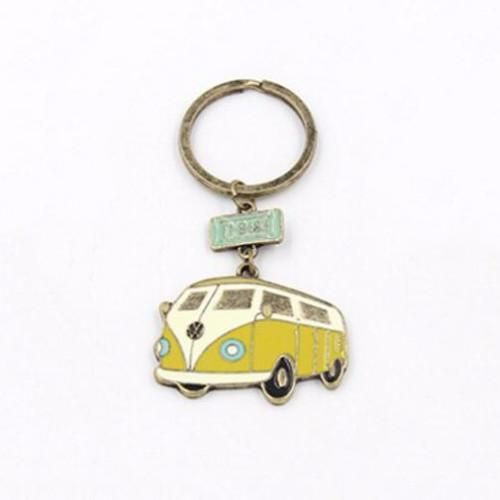 Volkswagen Vehicle Antique Finish Key Ring-Key Rings-NUVO53