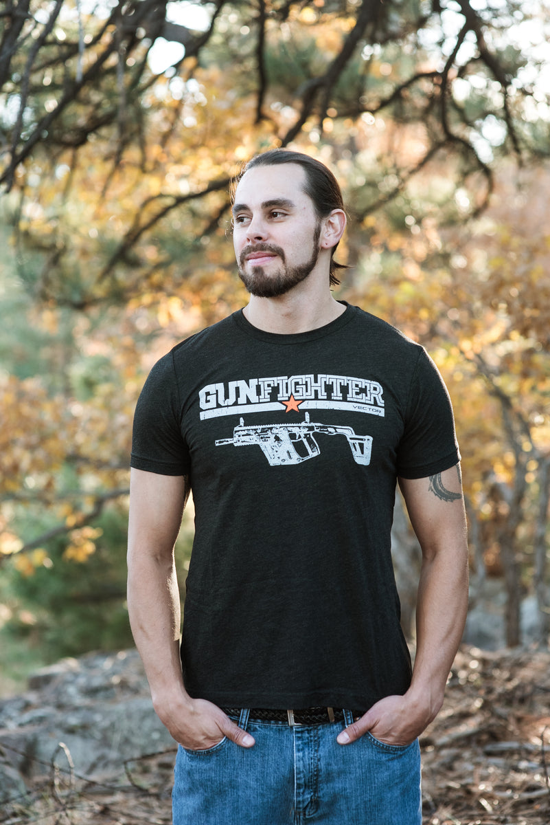 Mens Short Sleeve Gunfighter Vector T-Shirt