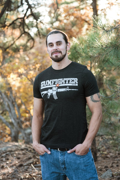 Mens Short Sleeve Gunfighter M4 T-Shirt