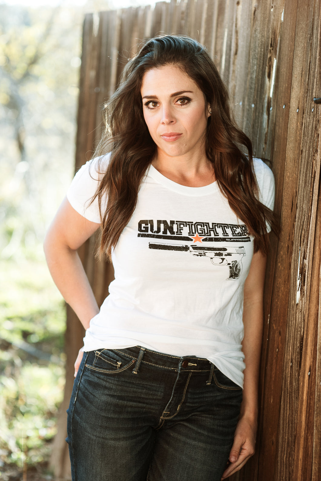Women's Short Sleeve Gunfighter Suppressed T-Shirt