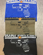 Mens Short Sleeve Gunfighter Glock T-Shirt