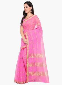 Komal Fashion Art Silk Printed Saree with blouse