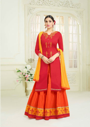 Raj Kumari Designer Party Wear Free Size Dress