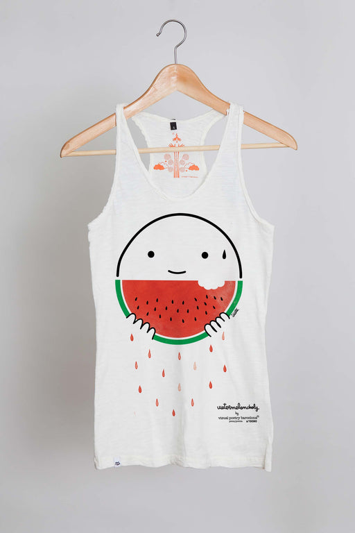 "Camiseta tirantes. ""watermeloncholy"" - Visual Poetry Barcelona"