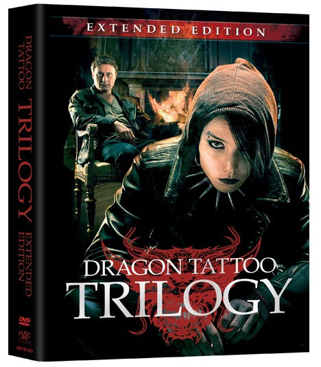 The Dragon Tattoo Trilogy: Extended Edition DVD