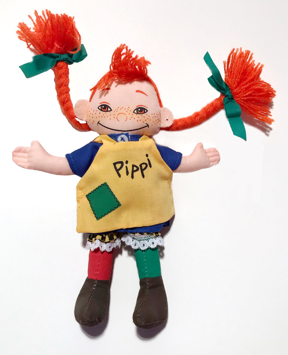 Pippi Longstocking Doll Cloth Toy