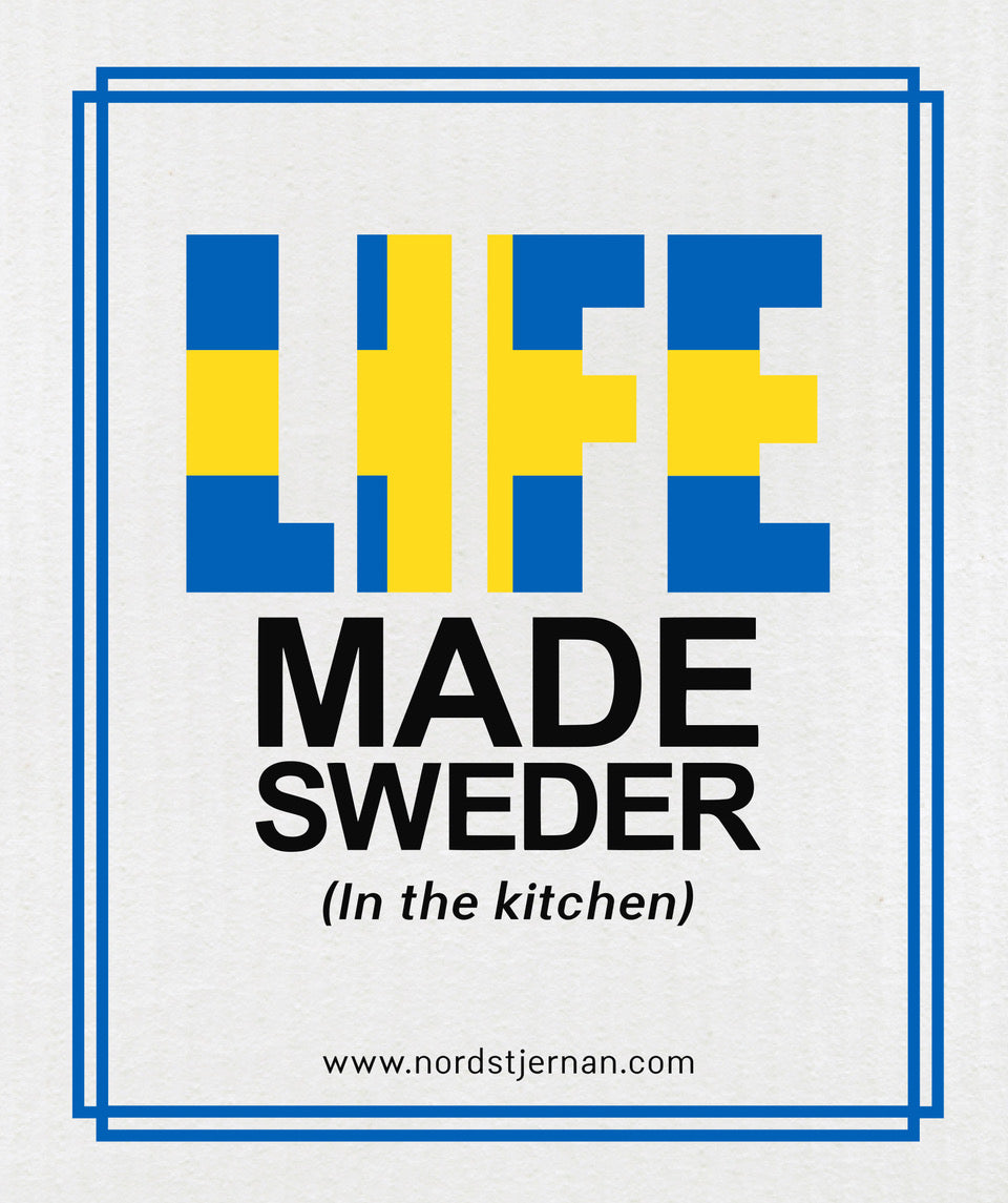 Life Made Sweder Swedish Dishcloth