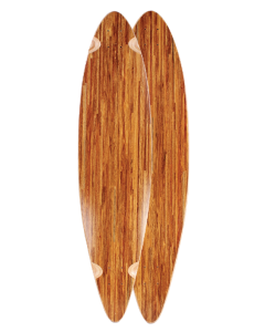 Custom Hand Painted Longboard Deck - Exodus Longboard Co.