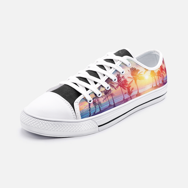 LA Vibes Unisex Low Top Canvas Shoes