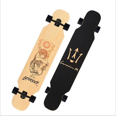 Russian Maple Wood Dancer Longboard Decks - Exodus Longboard Co.