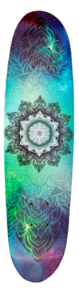 Mandala Mini Deck - Exodus Longboard Co.