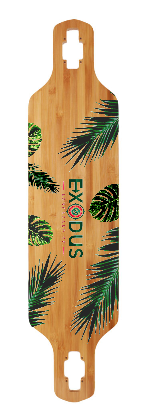 The Islander Longboard Deck - Exodus Longboard Co.