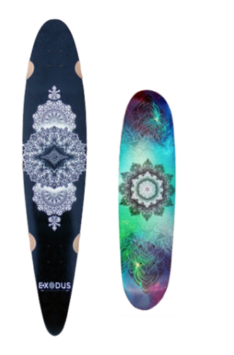 Mandala board pack - Exodus Longboard Co.