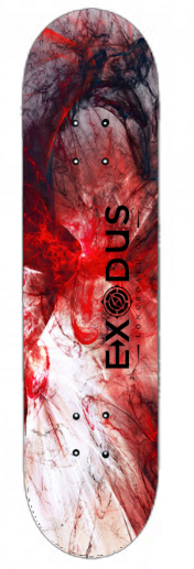 Color Fractal Skateboard Decks