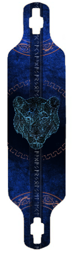 The Saphire Lioness Longboard