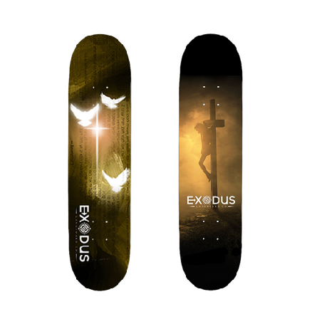 Christian Skateboard Decks - Exodus Longboard Co.