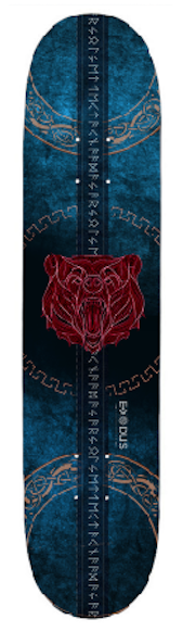 Ursa Umbra Skateboard Deck