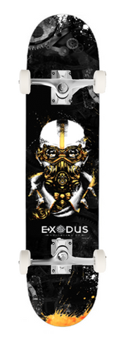 Steampunk Skateboard Deck - Exodus Longboard Co.