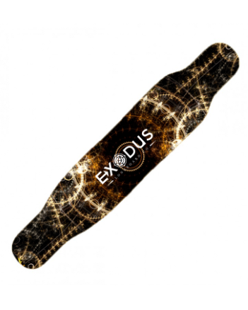 Steampunk Dancer Longboard Deck - Exodus Longboard Co.