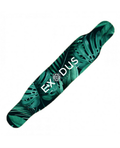 Palm Tree Dancer Longboard Deck - Exodus Longboard Co.