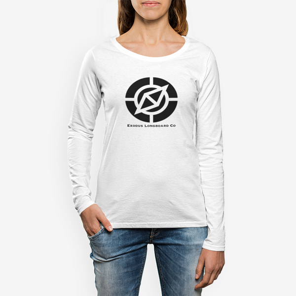 Women's Exodus Crew Neck Long sleeve T-shirt - Exodus Longboard Co.