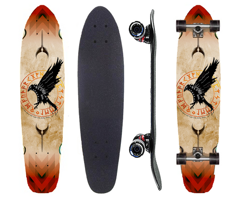 Tomb of the Valkyrie Longboard Deck - Exodus Longboard Co.