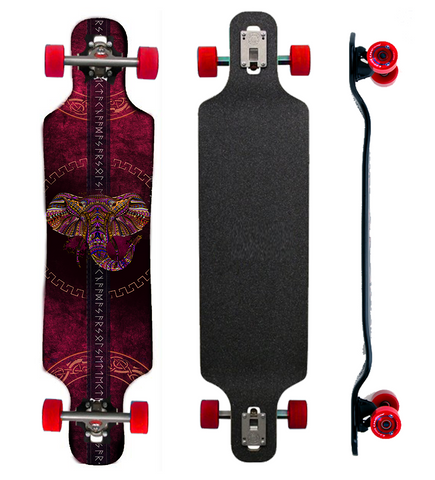 The Ruby Elephant Longboard