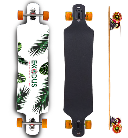 The Islander Longboard Deck