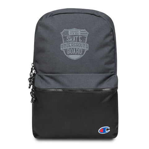 Embroidered Skateboard Underground Backpack - Exodus Longboard Co.