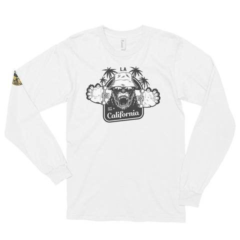 West Coast Long Sleeve Skateboard Shirt