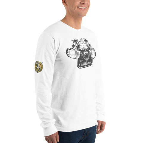 West Coast Long Sleeve Skateboard Shirt - Exodus Longboard Co.