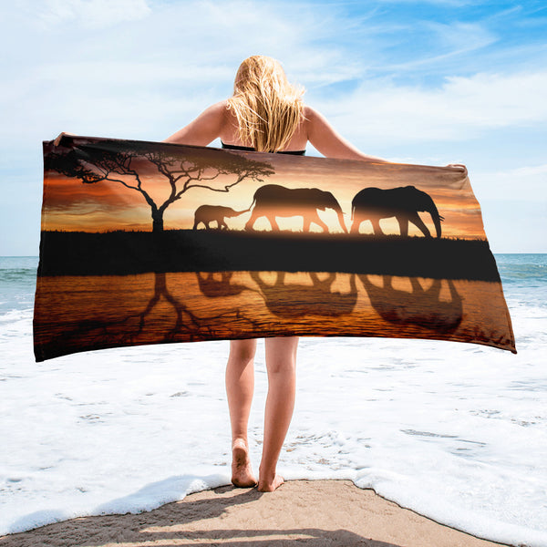 Elephant Beach Towel