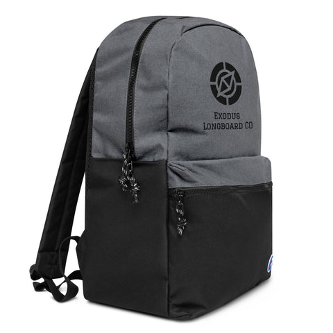Embroidered Exodus Longboard Champion Backpack