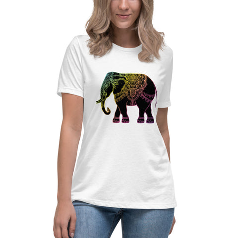 Women's Elephant Relaxed T-Shirt - Exodus Longboard Co.