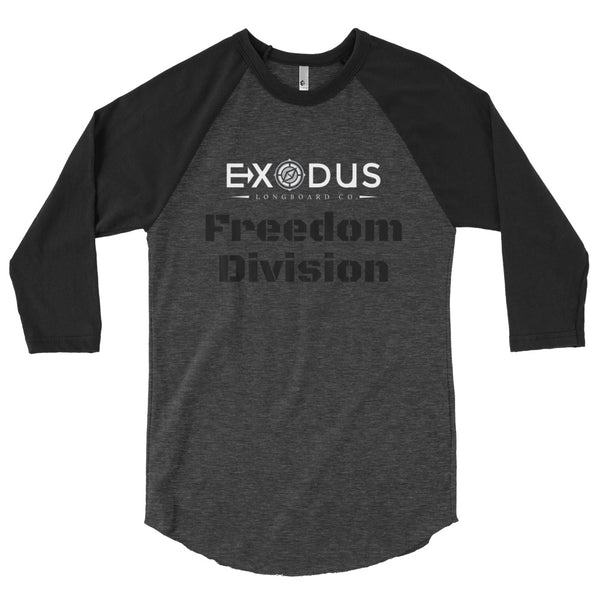 Freedom Division 3/4 Sleeve - Exodus Longboard Co.