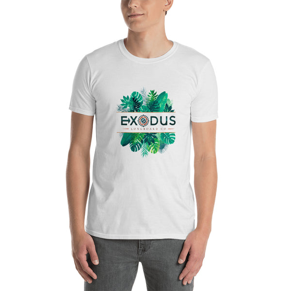 Short-Sleeve Palm Tree Unisex T-Shirt - Exodus Longboard Co.