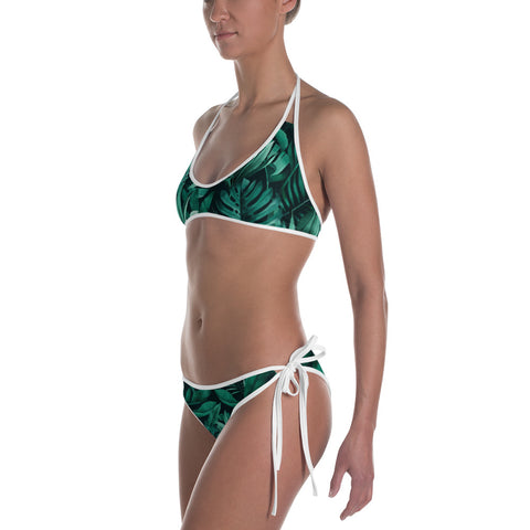 Womens Palm Branch Bikini - Exodus Longboard Co.