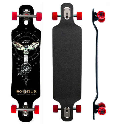 The Owl of Time Longboard - Exodus Longboard Co.