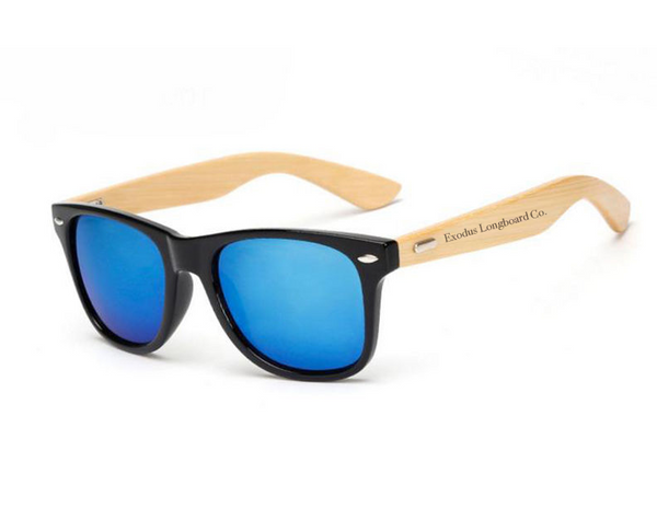 Exodus Longboard Co. Bamboo Sunglasses
